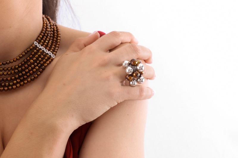 anillo_plata de ley_perla_chocolate_seyart_4