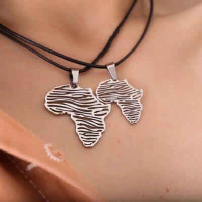collar_acero_africa_cebra_cordon_marron_negro_seyart_6