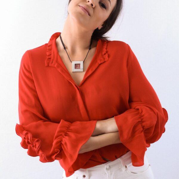 collar_acero_cristal_cuadrado_rojo_seyart_2