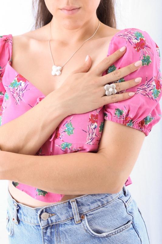 collar_plata de ley_flor_perla natural_cadena de plata_seyart_4