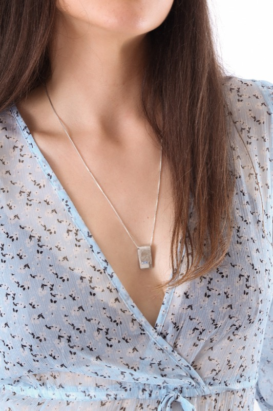 collar_plata_circonita_placa_cadena de plata_azul_seyart_4
