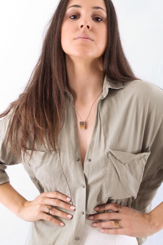 collar_rectangular_plata de ley_circonitas_marron_caramelo_cadena de plata_seyart_3