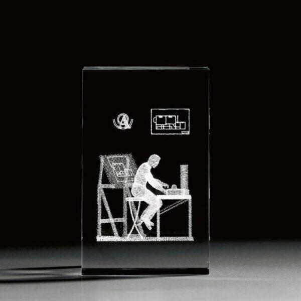 cristal_prisma_regalo_personalizado_grabado laser_naturaleza_arquitecto_seyart