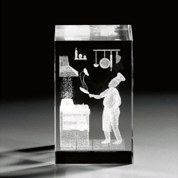 cristal_prisma_regalo_personalizado_grabado laser_naturaleza_cocinero_seyart
