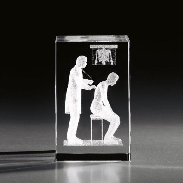 cristal_prisma_regalo_personalizado_grabado laser_naturaleza_doctor_seyart