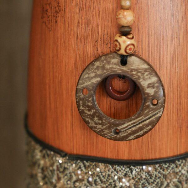 jarron_decorativo_ceramica_madera_marron_naranja_africano_grande_seyart_2