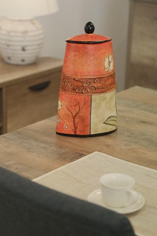 jarron_decorativo_ceramica_naranja_beige_orquidea_seyart_3