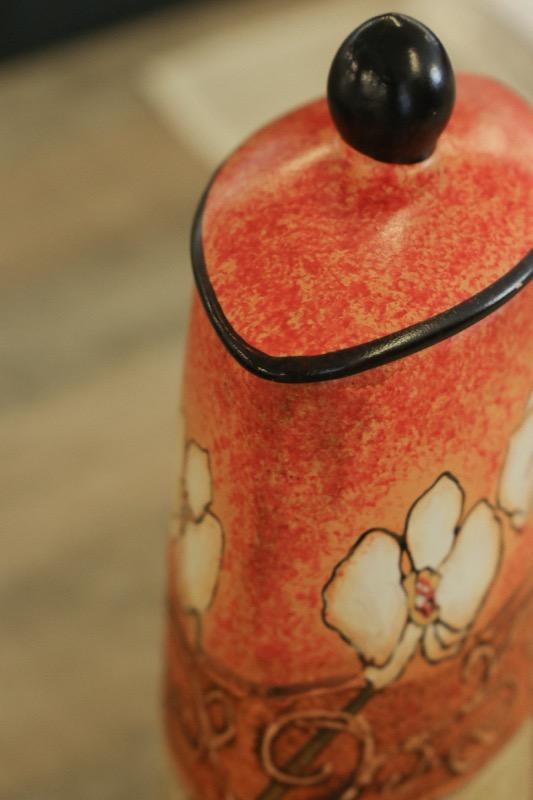 jarron_decorativo_ceramica_naranja_beige_orquidea_seyart_5