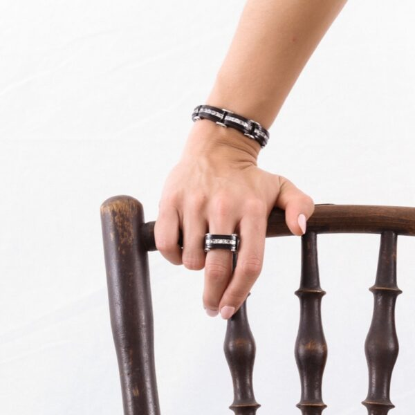 pulsera_madera_articulada_plata de ley_circonitas_seyart_2