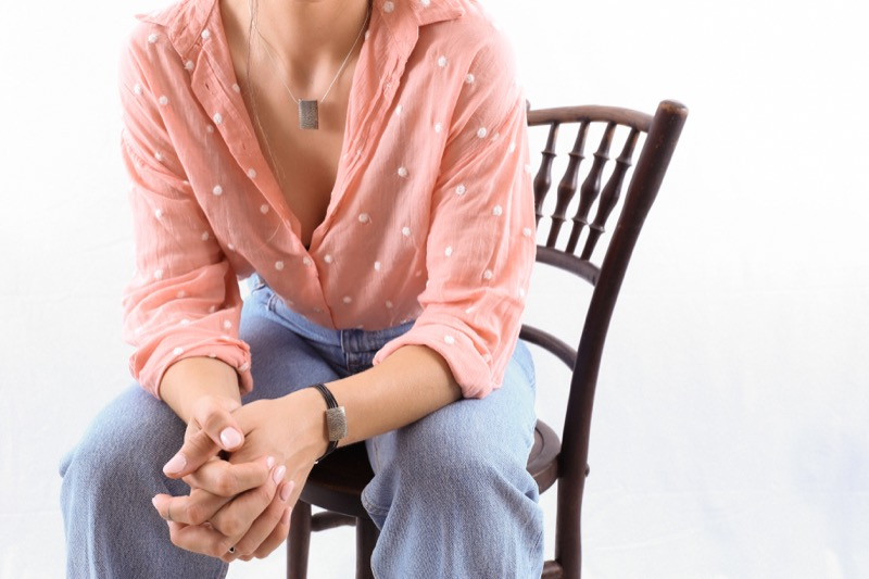 pulsera_plata de ley_cuero_cabello_placa_joyeria de autor_seyart_4