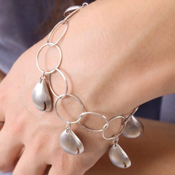 pulsera_plata de ley_joyeria de autor_drop_gota_agua_seyart_2