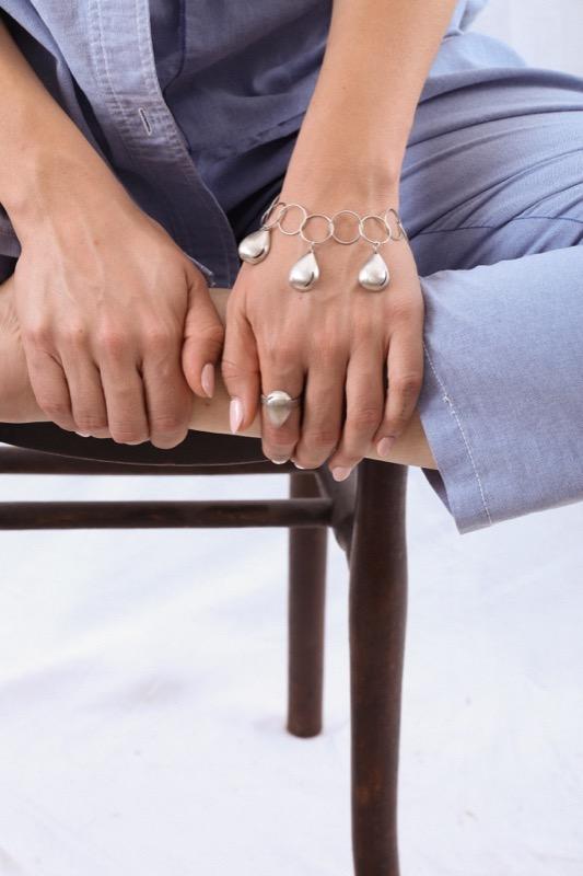 pulsera_plata de ley_joyeria de autor_drop_gota_agua_seyart_3
